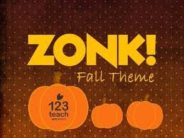 Free Fall Powerpoint Zonk Free Fall Halloween Themed Powerpoint Review Game Board Tpt