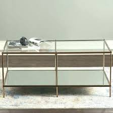 black and glass coffee table top set with 3 drawers living room furniture