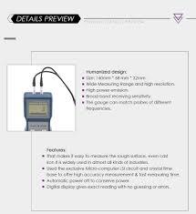 Receiving Gauge Design Us 106 03 18 Off Landtek Tm 8810 4 Digit Lcd Digital Pipe Wall Thickness Gauge Ultrasonic Thickness Meter In Width Measuring Instruments From Tools