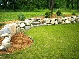 retaining walls natural stone natural stone how much does a natural stone retaining wall cost landscaping
