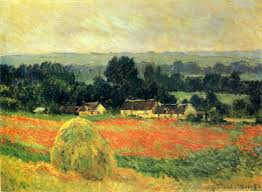 claude monet 1840 1926 haystack at giverny oil on canvas 1886