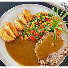 الروستو هو من أصل أميركي اشتهر في معظم مطبخي للمأكولات الشرقية