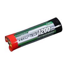 <b>Аккумулятор</b> Turingy <b>Nano</b>-<b>Tech 1200mAh</b> 1S 15C Round Li-Po ...