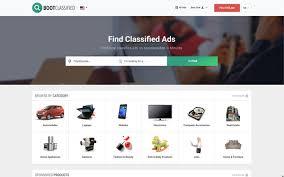 Newspaper Classified Ads Template Bootclassified Classified Theme