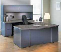modular executive office furniture. commercial executive desk suite with metal frame and laminate surfaces. this csii series furniture set is perfect for industrially style business offices. modular office b