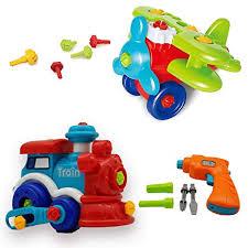 take apart toy set train toy airplane toy power drill toy toddler