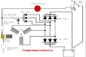 alternator circuit diagram ireleast info alternator wiring diagram me08 wiring circuit