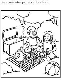 Small Picture Elegant Picnic Coloring Pages 49 About Remodel Picture Coloring