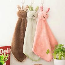 <b>Baby Nursery Hand Towels</b> Baby Soft Plush Infant baby Cartoon ...