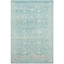 safavieh evoke light blue ivory 7 ft x 9 ft area rug