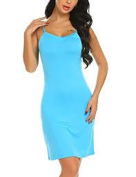 Avidlove <b>Women's</b> Cotton Full Slips <b>Sexy Chemise Nightgown</b> V ...