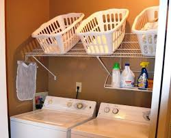 image of small laundry room organization diy ideas