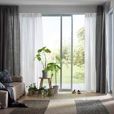 ikea sitting room furniture. A Light And Airy Living Room With White Gray Layered Curtains Ikea Sitting Furniture