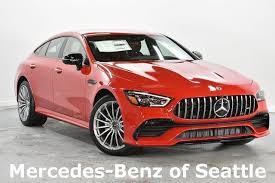 The gt four door is a panamera, 8series gran coupé competitor. New 2020 Mercedes Benz Gt Class Amg Reg Gt 53 4 Door Coupe In Seattle Wa