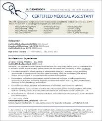 Medical Assistant Resume Samples Mesmerizing Cna Resume Sample Resume Badak