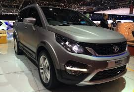 new car launches from tataTata AriaBased Hexa SUV Unveiled at 2015 Geneva Motor Show