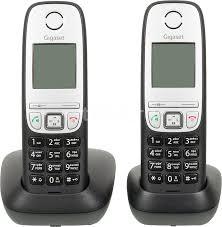 Купить <b>Радиотелефон GIGASET A415 Duo</b>, черный в интернет ...