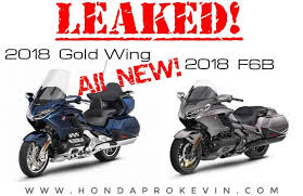 2018 honda goldwing 1800. fine goldwing official  new 2018 honda goldwing u0026 f6b pictures leaked changes specs  info overview with honda goldwing 1800 n