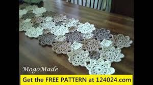 Free Crochet Table Runner Patterns Beauteous Free Crochet Table Runner For Beginners YouTube