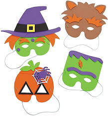 Halloween Mask Craft Kit - Crafts for Kids & Hats ... - Amazon.com