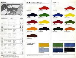 Porsche Color Guide Rennlist Porsche Discussion Forums