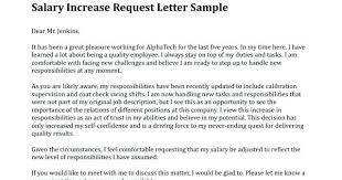 Salary Increase Letter Template Employer To Employee Requesting