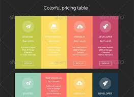 Pricing Template 55 Best Pricing Table Ui Element Psd Templates Designbump