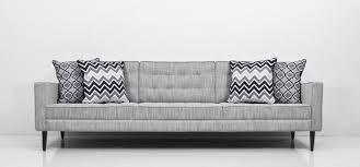 gray tweed sofa. Contemporary Tweed Mid Century Sofa In Grey Tweed To Gray E