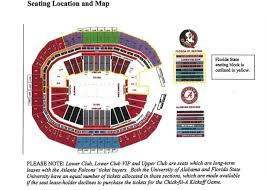 Alabama Florida State Seating Chart New Details Ticket Prices And Seating Chart For 2017