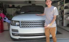 faze rug car interior. sick car! vlogger faze rug shows off his 2016 range rover autobiography (video) faze car interior