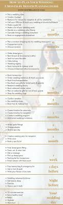 complete wedding checklist how to plan your wedding a month by month planning guide