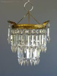 1930 s small albert drop chandelier