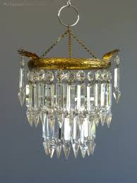 1930 s small albert drop chandelier