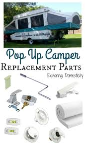 pop up camper replacement parts