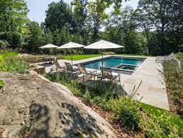 Garden Pergola With Firepit And Pool Sean Jancski Landscape Architects