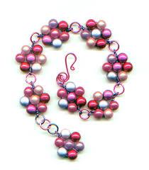 daisy chain wire wrapped bracelet