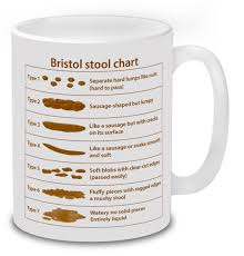 Bristol Stool Chart For Kids Bristol Stool Chart Poo Mug Gift Idea