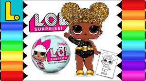Drawing And Coloring Lol Surprise Doll Queen Bee Printable