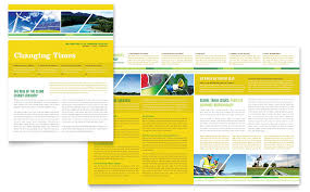 Microsoft Office Publisher Newsletter Templates Environmental Conservation Newsletter Template Word Publisher