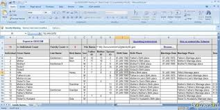 Build A Family Tree In Excel Family Tree Template Excel Generation Fresh Lovely Free Generations
