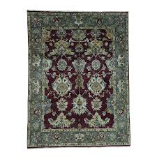 7 3 x9 7 indo oushak pure wool hand knotted oriental rug sh33885