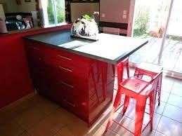 Photo Cuisine Rouge Et Grise Cuisine Rouge Et Jaune Gris Moderne