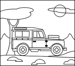 Small Picture Jeep Coloring Page transportation coloring pages Pinterest