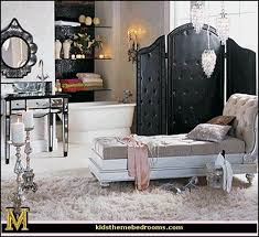 old hollywood decor glam bedroom