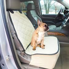 plush paws co pilot pet car seat cover for bucket seats with bonus