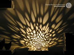 lighting patterns. Light Patterns From The Voronoi Pearl Lamp No. 1 Lighting
