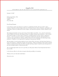 Unique Teacher Cover Letters Formal Letter