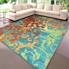 modern rugs 8x10 details about area rug carpets large colorful bedroom big cool blue mid century