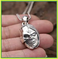 Skull Pendant <b>100</b>% <b>925 Sterling</b> Silver Jewelry Men Women Prajna ...