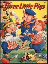 three little pigs 3434 merrill 1941 by milo winter 2456 three little pigs books